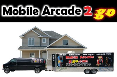 Mobile Arcade with Laser Tag